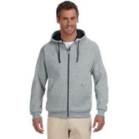Jerzees (R) 8 oz 50/50 NuBlend (R) Contrast Full-Zip Hood