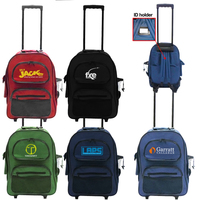 Rolling Backpack School Bag