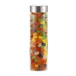 20 oz Wide mouth Glass Bottle Veranda w/ Jelly Beans