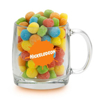13 oz Nordic Glass Mug w/Smiley Sour Poppers