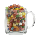 13 oz Nordic Glass Mug With Gourmet Jelly Beans