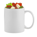 11 oz. Ceramic C-handle Classic Mug with Gummy Bears