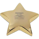 Star I Paperweight with Pouch