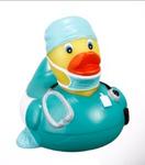 Rubber Surgical Scrubs Duck
