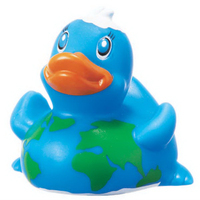 "Rubber ""Round the World"" Duck"