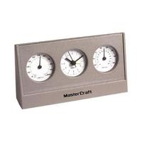 Desktop weather station with alarm clock