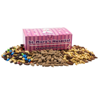 Large Chest Box with Trail Mix, Almonds, Mixed Nuts