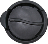 Black Lid for Stainless Steel and Glass Pints