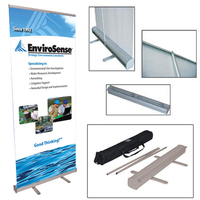 """33"""" x 78"""" Retractable Banner with Stand"""