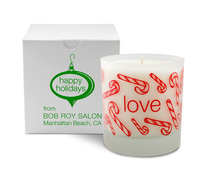 Love Holiday Candle, 11 oz. - Frosted Tumbler