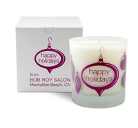 Ornament Holiday Candle