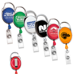 "30"" Retractable Carabiner Style Badge Reel"