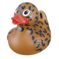 Rubber Safari Cheetah Duck