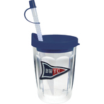 14 oz Thermal Double Wall Travel Tumbler -Embroidered Emblem