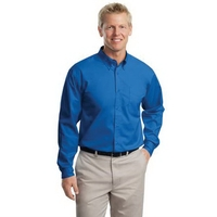 Port Authority Extended Size Long Sleeve Easy Care Shirt.