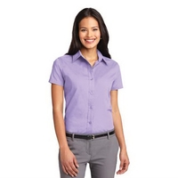 Port Authority Ladies Short Sleeve Easy Care Shirt.