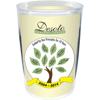 14 oz Thermal Double Wall Tumbler - White Printed Insert