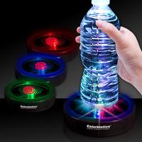 "3 1/2"" Rainbow Light Up LED Glow Drink Coaster"