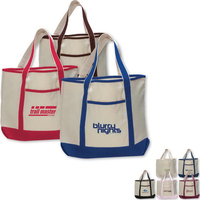 Large Canvas Deluxe Tote Bag