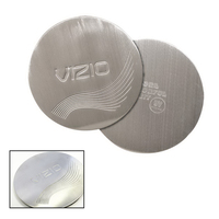 Die Struck Stainless Steel Round Beverage Coaster