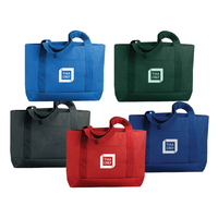 600 Denier Polyester Solid Color Tote Bag