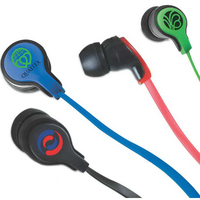 Smarty Mic Earbuds with Microfiber Screen Cleaner