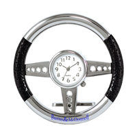 Metal Desktop Steering Wheel Clock