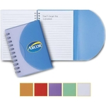 """Two-Tone 3"""" x 4"""" Jr. Spiral Notebook"""