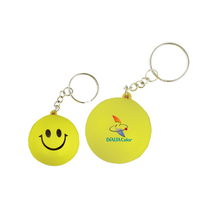 Smile Face key chain-Stress reliever