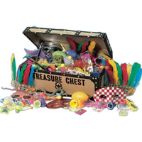 Pirate's Treasure Chest with 96 Choice Toys