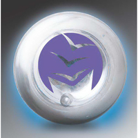 Clear-View Bounce 'n Blink Lighted Ball with Two Blue LEDs