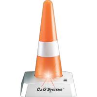Blinking Traffic Cone