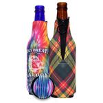 Sublimated Neoprene Zipper Bottle Holder