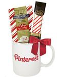 Peppermint Cocoa & Cookie Gift Mug