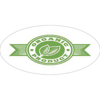 24 Hour FasTurn® Oval Outdoor Labels - 1C