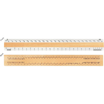 """12"""" Architect Ruler with 2 Joist & Truss Scales"""