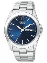 Citizen Men's Quartz Analog Stainless Steel Blue Dial Watch