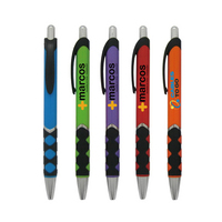 Click Action Plastic Ball Point Pen