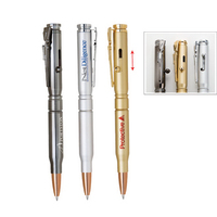 Bolt Action Metal Ballpoint Pen