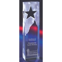 Optical Crystal Star Tower Award