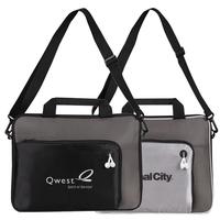 "Poly Metallic Doby 13"" Laptop Briefcase Bag"