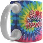 11 oz White Classic Wrap Ceramic Mug