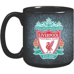 20 oz Black Ceramic Super Size Mug