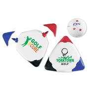 Triple Golf Ball Marker