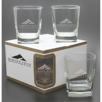 Sterling Double Old Fashioned Glass (Set of 4)