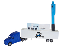1/87 Scale Hauler Truck w/Business Card and Pen Holder