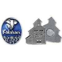 Solid Pewter Lapel Pin