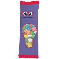 Zaga Snack Promo Pack Candy Bag with Chicle Chewing Gum