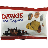 Wide Zaga Snack Promo Pack Bag with Dog Bones