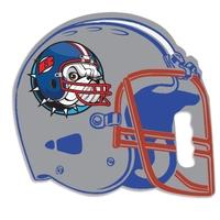 Football Helmet Stadium Seat Cushion - USA Made! - Foam